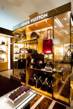New Louis Vuitton store at Harrod's