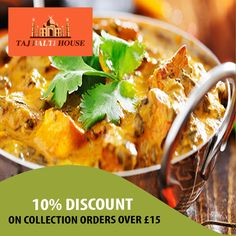 Taj Balti House offers delicious Indian Food in Horley, Redhill Browse takeaway menu and place your order with ChefOnline. Indian Food Recipes, Ethnic Recipes, A Table, Curry, Menu, Delivery, Yummy Food, Restaurant