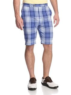 65% OFF Fairway  amp  Greene Men s Bermuda Madras Plaid Flat Front Shorts  Mens Clothing 58d159898bf