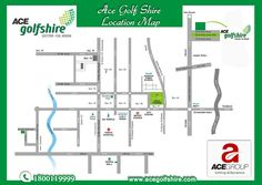 #ACE_Golf_Shire, best #real_estate #luxurious project in sector 150 Noida Expressway launched bu #Ace_Group. Checkout the #location_map of Ace Golf Shire here :- http://www.acegolfshire.com/ace-golf-shire-location.html Or call @ 1800-11-9999