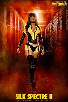 Watchmen - Silk Spectre II cosplay by Jeff Zoet