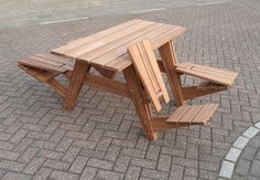 The perfect picnic table