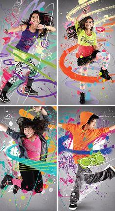 on Behance Kids Dance Classes, Kids Class, Dance Photography, Children Photography, Gym Advertising, Brain Break Videos, Zumba Kids, Calorie Burning Workouts, Saraswati Goddess