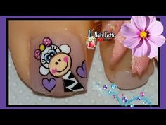 Toe Nails, Pedicure, Decoupage, Nail Art, Youtube, Videos, Enamel, Toenails Painted, Pretty Toe Nails