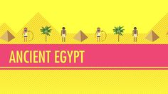 ▶ Ancient Egypt: Crash Course World History. Mystery of History Volume Lessons 24 6th Grade Social Studies, Teaching Social Studies, History Class, Teaching History, History Activities, Craft Activities For Kids, Crash Course World History, Ancient Egypt History, Educational Videos