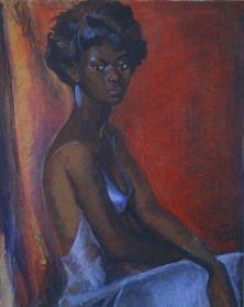 Boscoe Holder (Trinidad y Tobago) African American Art, African Art, Caribbean Art, Black Image, African Diaspora, Black Art, Amazing Art, My Arts, West Indian
