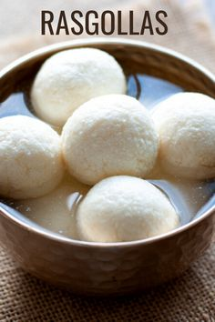 This rasgulla recipe is all about soft, spongy, and light as air balls dipped in a sweet sugar syrup. Made with chena, a special milk cheese, here's one Indian dessert you'll not want to miss!