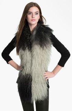 Toria Rose Genuine Lamb's Fur Boa available at #Nordstrom