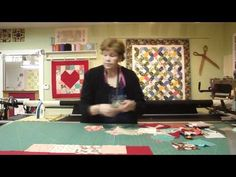 Valentine wall hanging  E-Z.  Video is great makes it look so easy.
