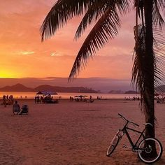 That magical moment when the sun really decides to show off. Tag someone you want to share a #sunset with! Photo by @storyv_com. Thanks for sharing by using #travelzoo! #Santos #Brazil