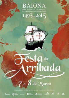 Festa da Arribada da Carabela Pinta en Baiona #galicia #festa