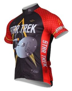 Brainstorm Gear 2015 Men s Star Trek Engineering Cycling Jersey - STE-M (Red  - 1aed9a914