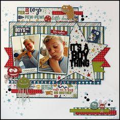 Step by Step Christmas Mini Album ⋆ Lady Pattern Paper Scrapbooking Paper Scrapbook Patterns, Scrapbook Layout Sketches, Kids Scrapbook, Scrapbook Albums, Scrapbooking Layouts, Scrapbook Cards, Christmas Mini Albums, Kids Pages, Pattern Paper