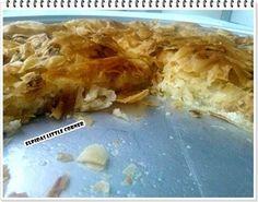 Η Τυρόπιτα - Elpidas Little Corner Brownies, Greek Appetizers, Cheese Pies, Tomato And Cheese, Little Corner, Spanakopita, Macaroni And Cheese, Oatmeal, Breakfast