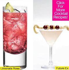 Whether you're spending this Valentine's Day with your special someone or with your single ladies, there's a delicious cocktail for everyone!