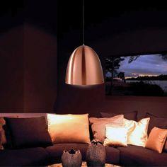 Dekolight Bell-riippuvalaisin-kupari ruokapöydälle ja mökille Ceiling, Lamp, Decor, Novelty Lamp, Table, Home, Paper Lamp, Home Decor, Ceiling Lights