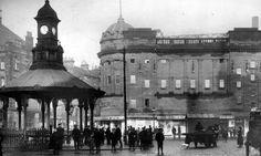 Tour Scotland Photographs: Old Photograph Bridgeton Cross Glasgow Scotland