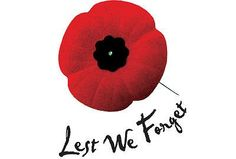 Rememberance Day  - On the 11th hour of the 11th day of the 11th month- we will remember you.