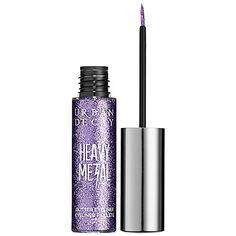 "Sephora: Urban Decay : Heavy Metal Glitter Liner : eyeliner in ""Midnight Cowboy"" How To Do Eyeliner, Simple Eyeliner, Gel Eyeliner, Eyeshadow, Eyeliner Waterline, Glitter Liner, Purple Glitter, Glitter Eye, Silver Glitter"