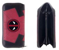 Marvel Deadpool Jrs. Zip Around Wallet