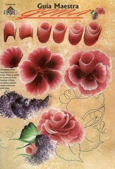 One-Stroke Flower Worksheet