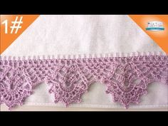 Sorry, This Video does not exist Crochet Trim, Filet Crochet, Crochet Doilies, Crochet Flowers, Crochet Lace, Crochet Designs, Crochet Patterns, Crochet Borders, Crochet For Beginners