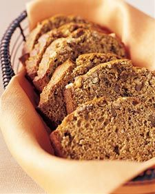 Banana bread with walnuts and flax seeds     You can store the banana bread wrapped well in plastic wrap at room temperature up to four days.