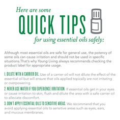 3 great tips for #essential #oil #safety