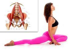 PSOAS - the muscle of the soul. Part Exercises- PSOAS – der Muskel der Seele. Teil Übungen PSOAS – the muscle of the soul. Part Exercises - Fitness Workouts, Yoga Fitness, Sport Fitness, Fitness Motivation, Health Fitness, Fitness Fun, Scoliosis Exercises, Yoga Exercises, Yoga Forum
