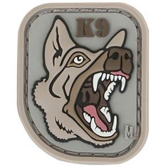 K-9 Morale Patch from Maxpedition. www.Maxpedition.com