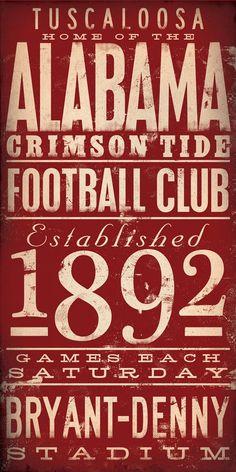 Love me some Alabama Football!!
