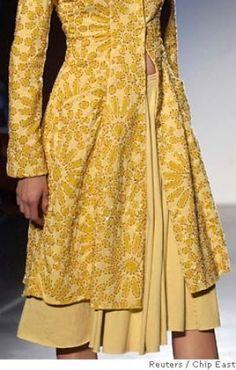 Natalie Chanin Clothing   Fashion Week in New York, September 10, 2005. Designers Natalie Chanin ...