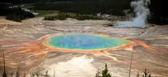 10.) Grand Prismatic Spring (Wyoming)