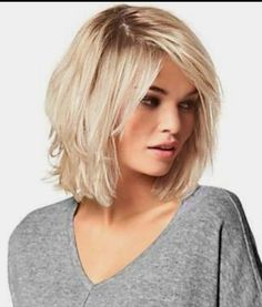 Medium Hair Cuts, Short Hair Cuts, Medium Hair Styles, Short Hair Styles, Haircuts For Fine Hair, Hairstyles Haircuts, Pretty Hairstyles, Short Hair With Layers, Great Hair