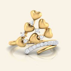 Buy Diamond Zlato Darline Ring Jewellery Online - Caratstyle.com