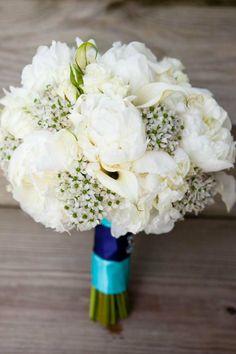 Beautiful Blooms - Sunshine Filled Bonnet Island Wedding Bridal Bouquet