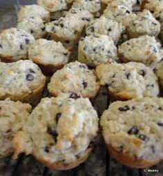 Sweet Mornings: Oatmeal Chocolate Chip Mini Muffins