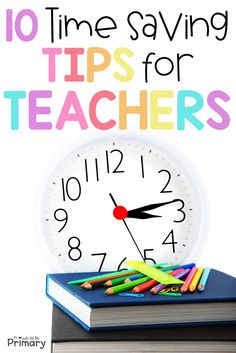 These 10 time saving tips for teachers will help you save time, master your classroom organization, and rock that classroom management, leading to a low-stress school year. You won't want to miss the FREE teacher planners! Free Lesson Planner, Teacher Planner Free, Erin Condren Teacher Planner, Teacher Freebies, Teacher Blogs, Teacher Hacks, Teacher Resources, Teaching Ideas, School Resources