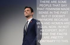 Joseph Gordon-Levitt | 17 Celebrities Who Have The Right Idea About Feminism