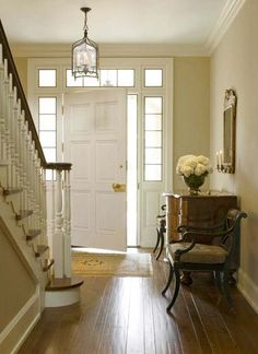 English Country House foyer