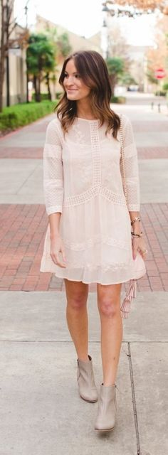 Cute summer blush dress