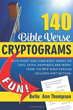 140 Bible Verse Cryptograms: Short and long Bible verses ... https://www.amazon.com/dp/1541031423/ref=cm_sw_r_pi_dp_x_8p4Nyb50BG02E