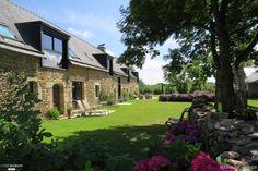 Rénovation d'une longère de 1824, maison d'hôtes dans le Golfe du Morbihan, Baden, Nathalie Hubier - gîte, chambre d'hôtes