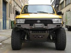 FatMouse Off-Road bumpers ! Jeep Truck, Pickup Trucks, Truck Roof Rack, Land Cruiser 4x4, Toyota Surf, Toyota Pickup 4x4, Truck Living, Off Road Bumpers, Car Mods