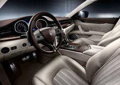 2014 Maserati Convertible Interior