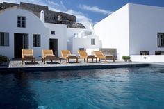 Villa Fabrica is a luxury holiday villa in Santorini. Set in an old factory, it features a versatile exciting layout allowing it to be split into 4 totally independent - hired as a whole it sleeps up to 16 guests: a truly knockout retreat for an unforgettable wedding or a big family reunion.