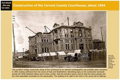 Courthouse being built