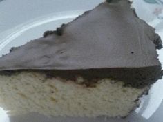 Vanilla Coconut Flour Cake with Chocolate Frosting