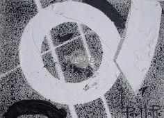 """""""Oblò - 2007"""" Artista: Parmarè Categoria: astratto Tecnica: Mista su legno Dimensioni: cm 15 x 20 #TvArte"""