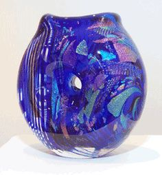 Sculpture by Patrick Mullen, Fire River Art Glass